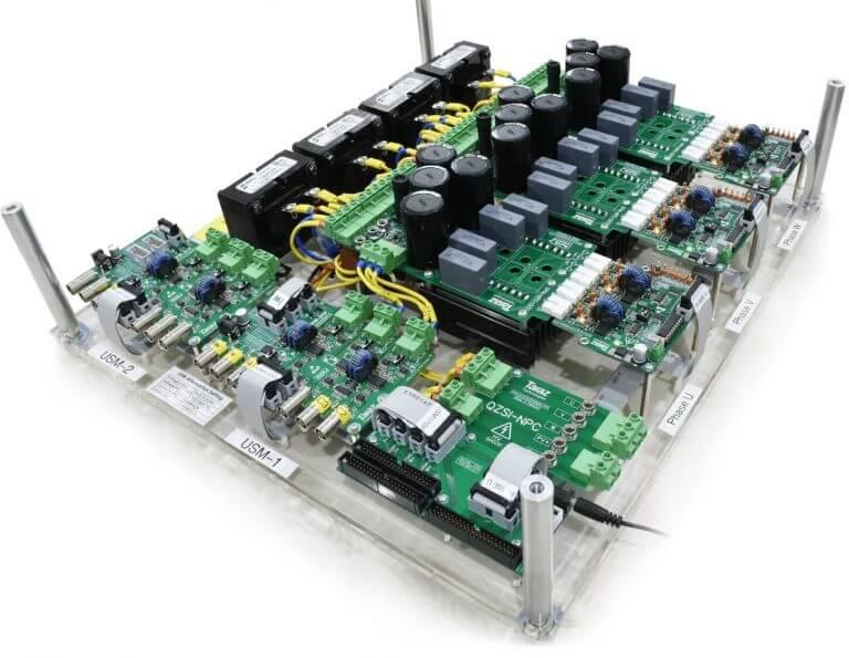 3 Phase Quasi Z-Source NPC Inverter